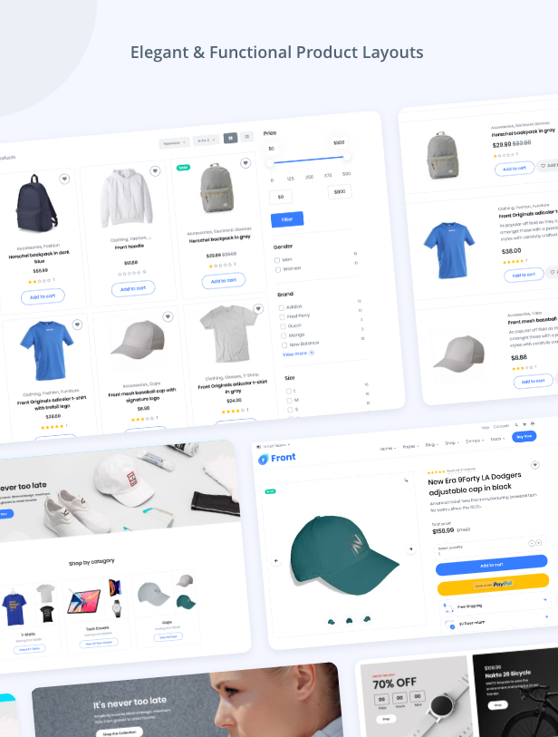 Front WooCommerce