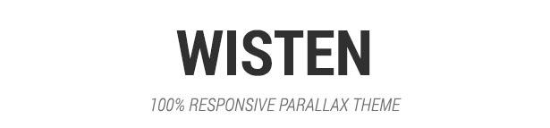 Wisten - One Page Parallax Joomla Template - 1