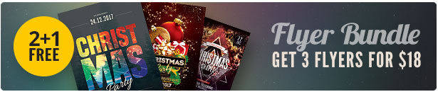 Christmas Flyer Bundle Vol.05