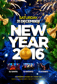 New Year 2016 Flyer - 4