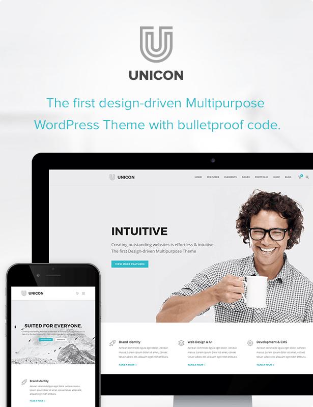 Unicon | طرح چند منظوره طراحی شده - 2