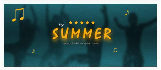 holiday happy dance summer music