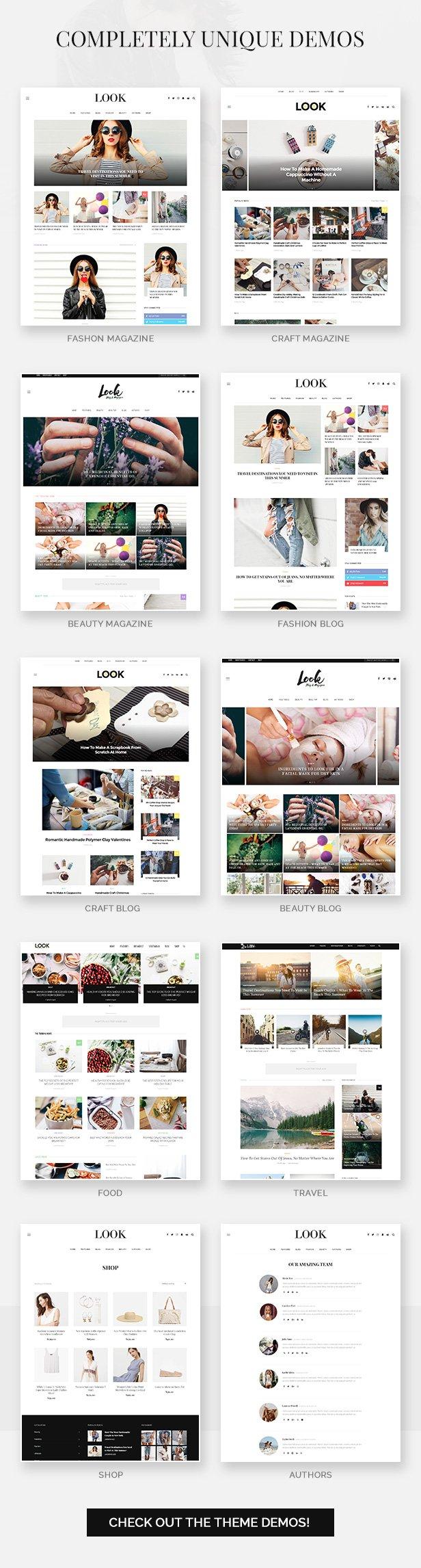 Look: Minimal Magazine and Blog WordPress Theme - 3