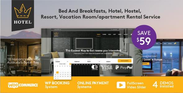 Hotel WordPress Theme
