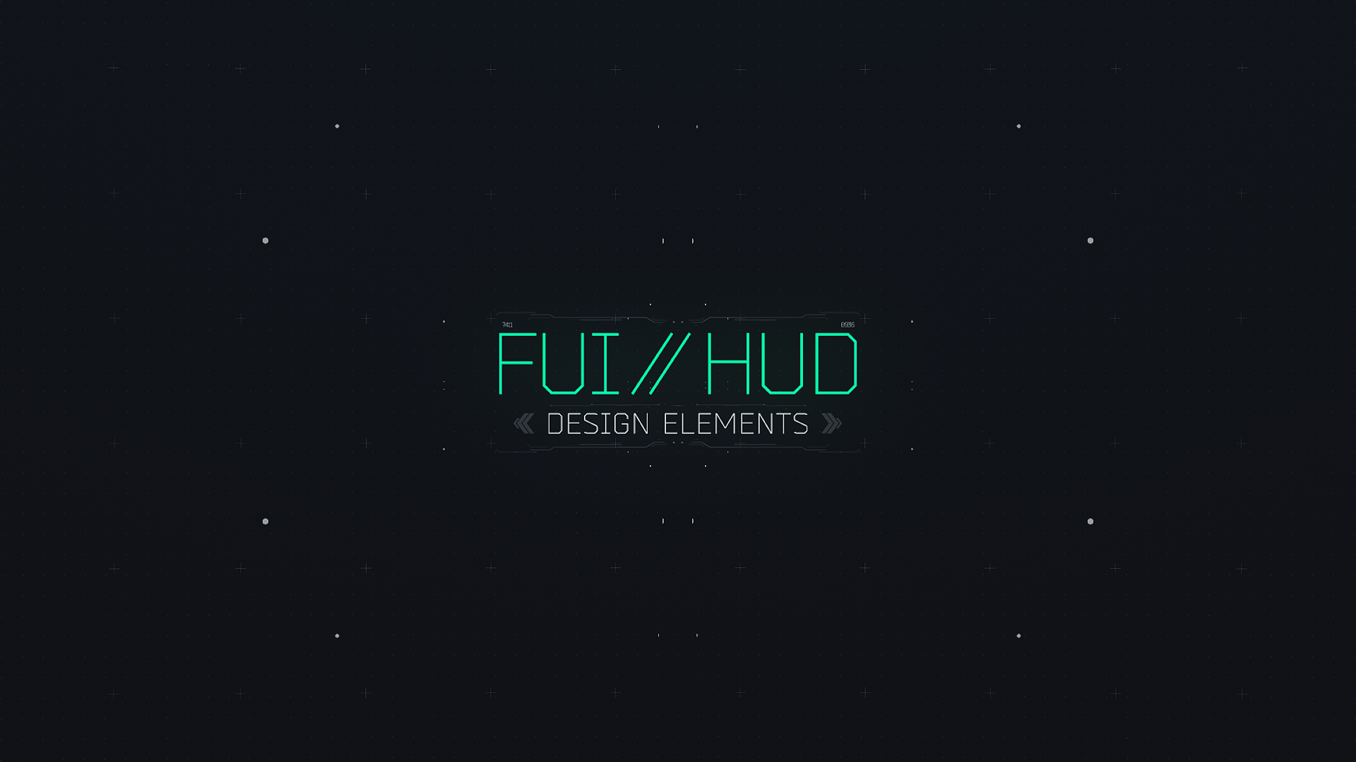 FUI HUD design elements - 1
