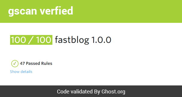 Fastblog - Responsive Ghost Theme for Blogging - 8