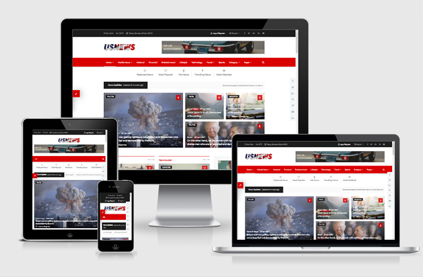 Download themeforest usnews multipurpose news magazine for News site template free download