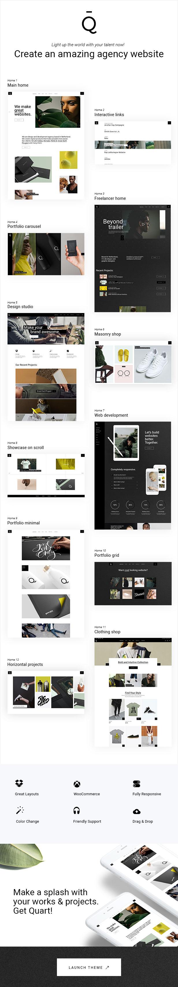 Quart - Modern Design Agency - 1