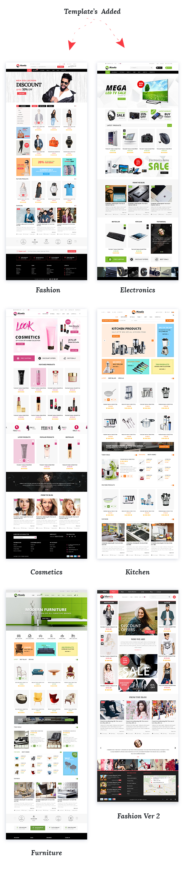 Menda - Ecommerce WordPress Themes - 4