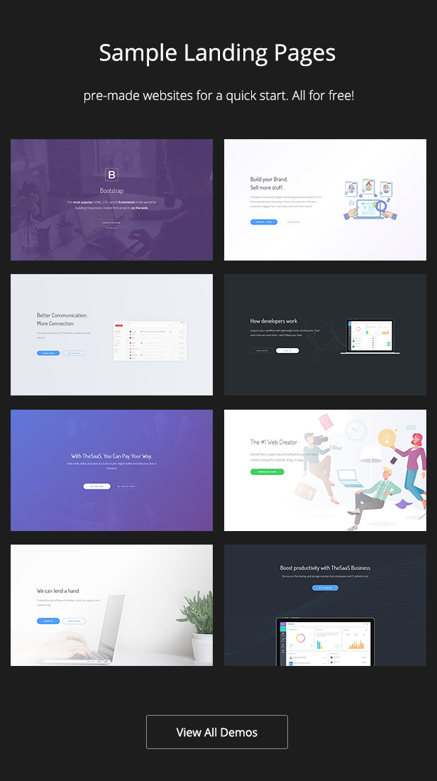TheSaaS - Responsive Bootstrap SaaS, Startup & WebApp Template - 6
