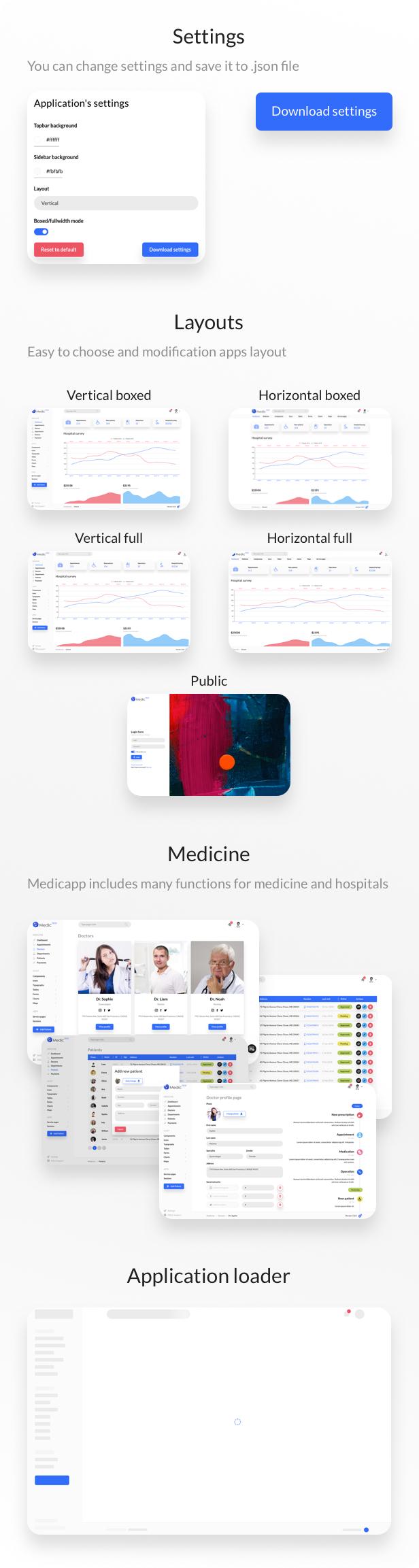 MedicApp - Medical & Hospital React/Redux admin template - 2
