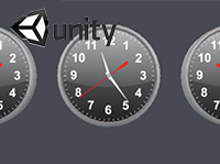 Analog Clock for Unity 3D