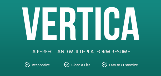 Vertica - WP Resume / CV & Portfolio - 7