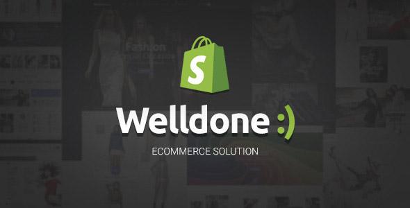 WellDone - premium shopify theme