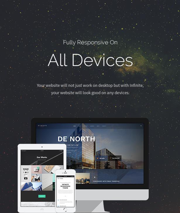 Infinite - Responsive Multi-Purpose WordPress Theme - 7