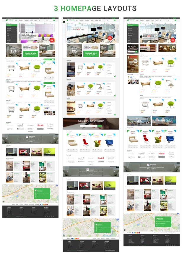 Megashop - Homepage