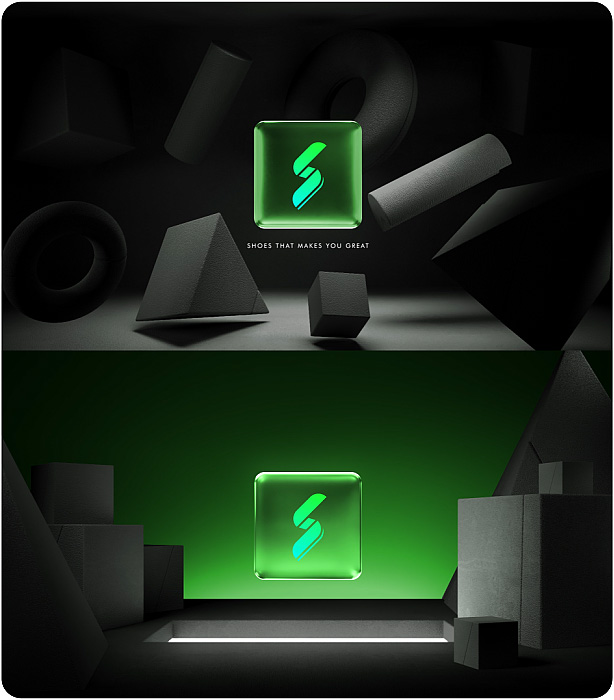 Gradient Glass Logo Reveal. 10 Ready Color Presets. - 3