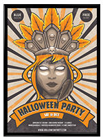 Halloween Nuclear Poster - 1