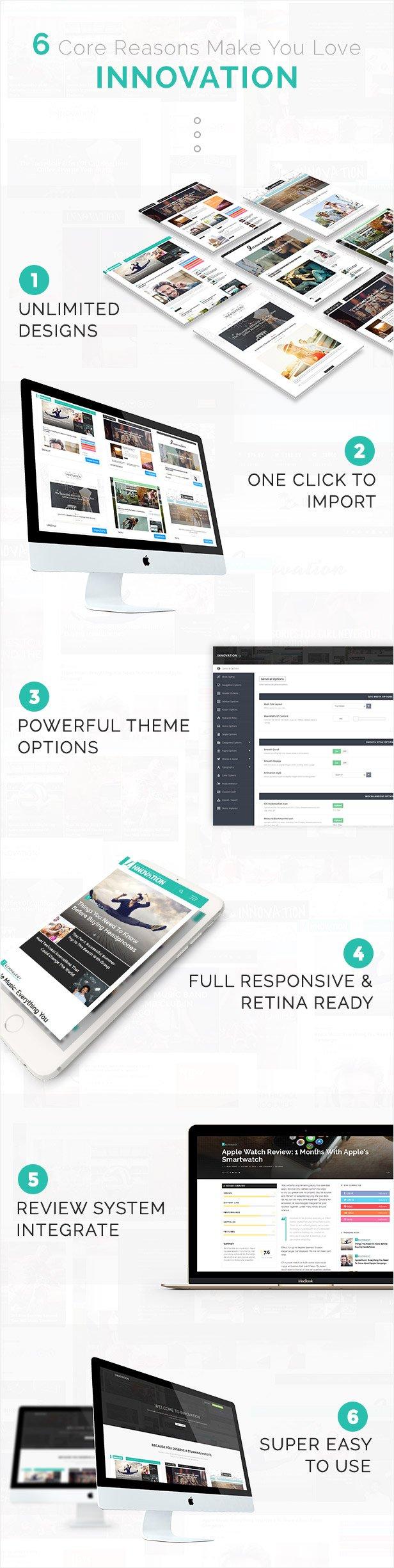Innovation: Multi-Concept News, Magazine & Blog Theme - 11