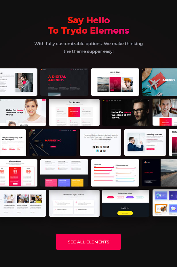 Trydo v1.0.0-Creative Agency&Portfolio WordPress主题插图22