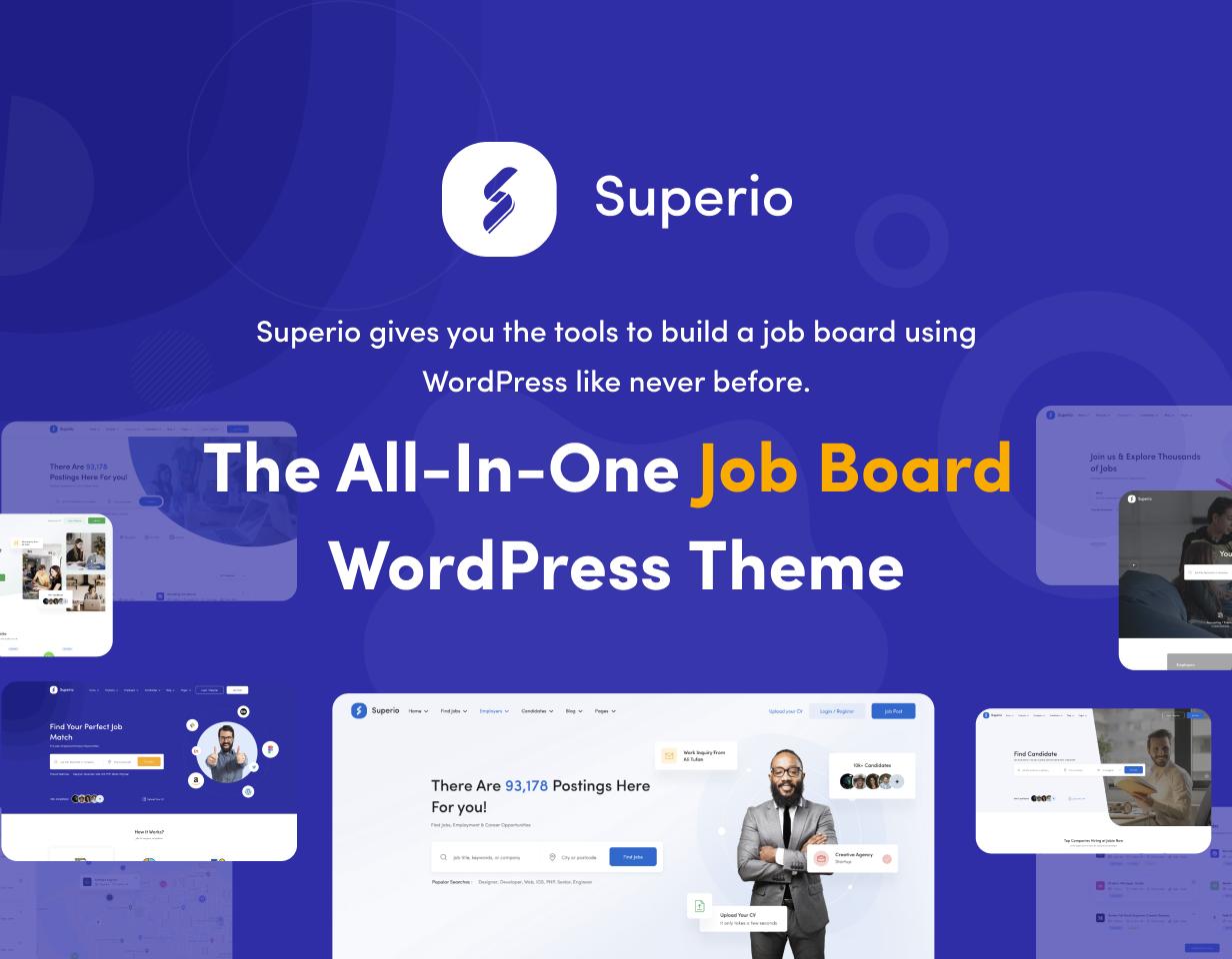 Superio – Job Board WordPress Theme - 4