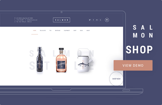 Salmon — Shop WordPress Theme