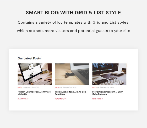 Smart Blog With Grid & List Style