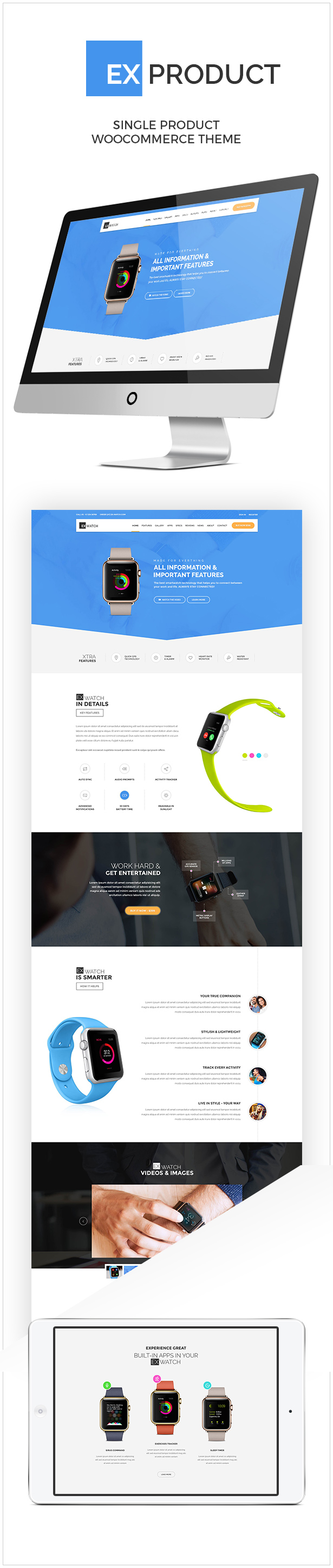 ExProduct - Single Product theme - 1