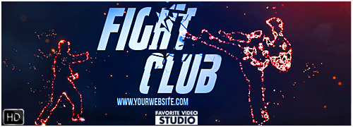 Fight Club After Effects Template CS5