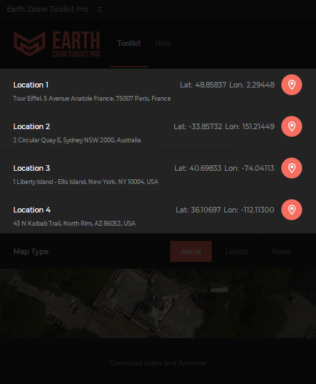 Earth Zoom Toolkit Pro - 2