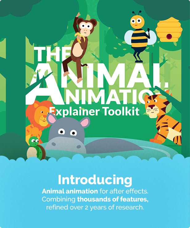 Animal Character Animation Explainer Toolkit - 1