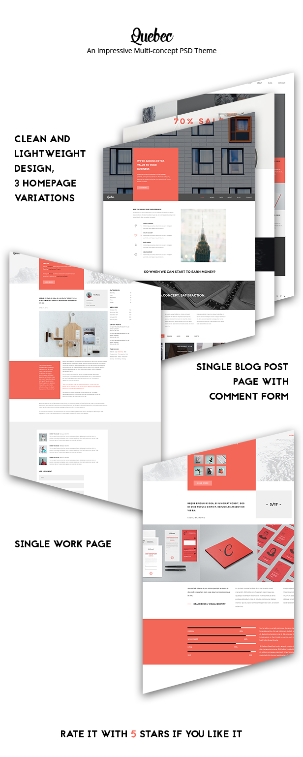 Quebec - Multi-Concept HTML Theme - 1