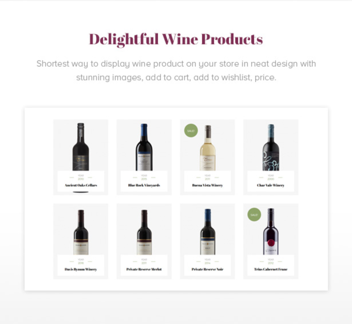 Royanwine Elegant & Eye-catching Wine Products  for Vinyard, Winery, Wine Makers, Dairy Farm
