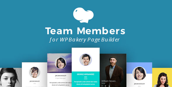Team Members for WPBakery Page Builder - 25