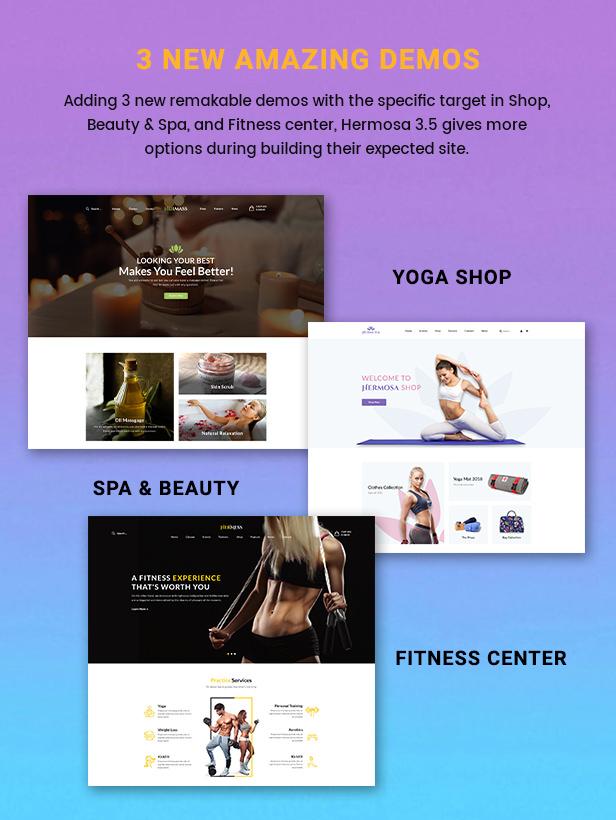 Hermosa - Health Beauty & Yoga WordPress Theme - 2