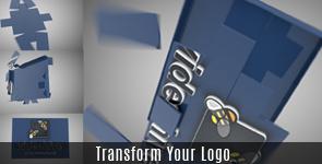 Ribbons Logo Reveal - 25