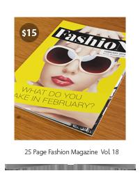 Fashion Magazine #5 - 12