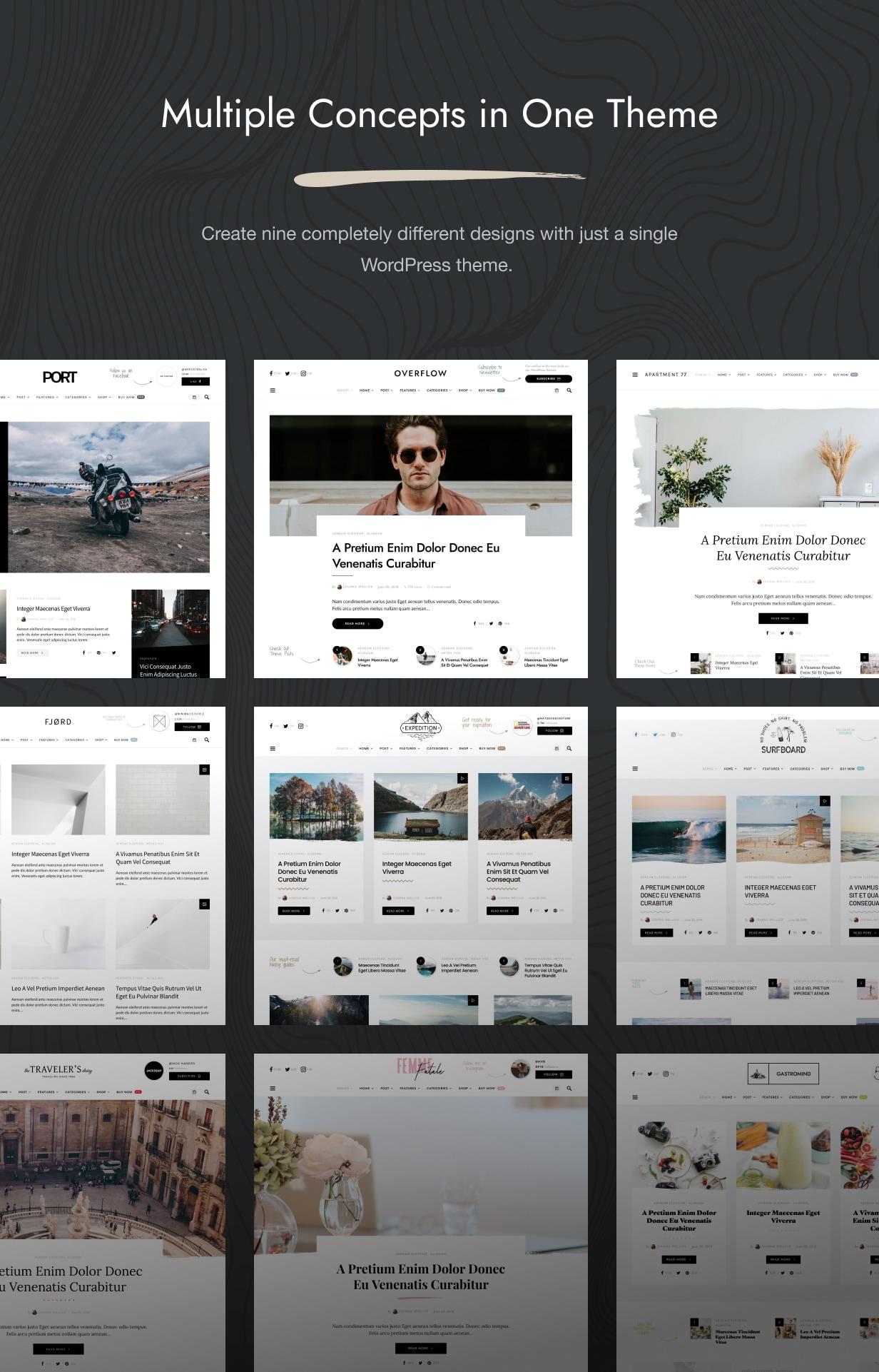 Overflow - Contemporary Blog & Magazine WordPress Theme - 2