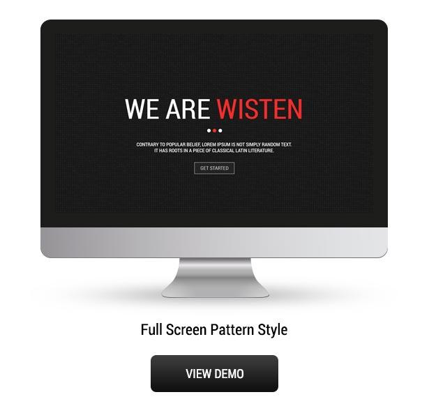 Wisten - One Page Parallax Joomla Template - 3