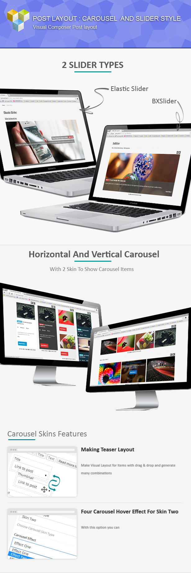 Post Layout: Carousel + Slider for Visual Composer - 1