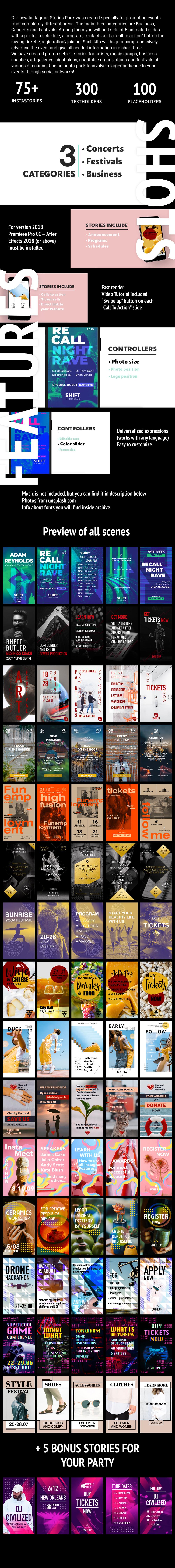 75 Insta Event Promo Stories - 1
