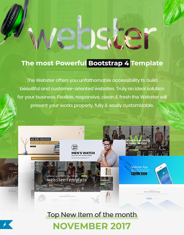 Webster - Responsive Multi-purpose HTML5 Template by