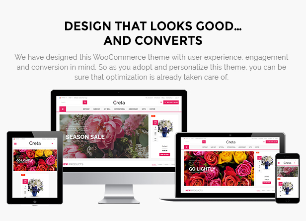 flower shop woocommerce