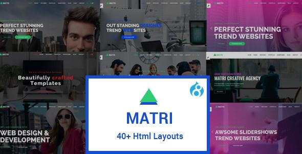 Matri | Responsive Multi-Purpose Drupal 8 Theme