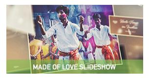 Made of Love - Romantic Slideshow