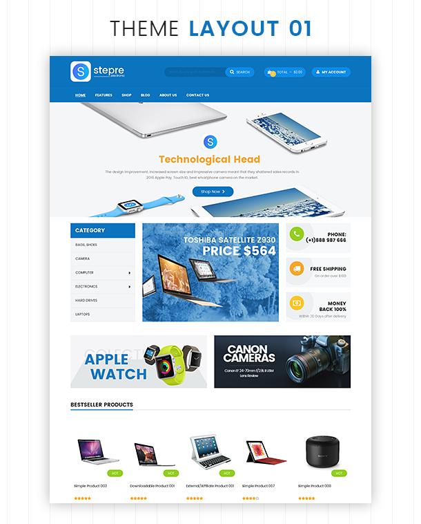 VG Stepre - Multipurpose WooCommerce WordPress Theme - 6