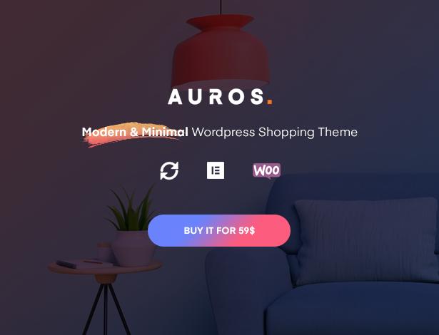 Auros Nội thất chủ đề WooC Commerce