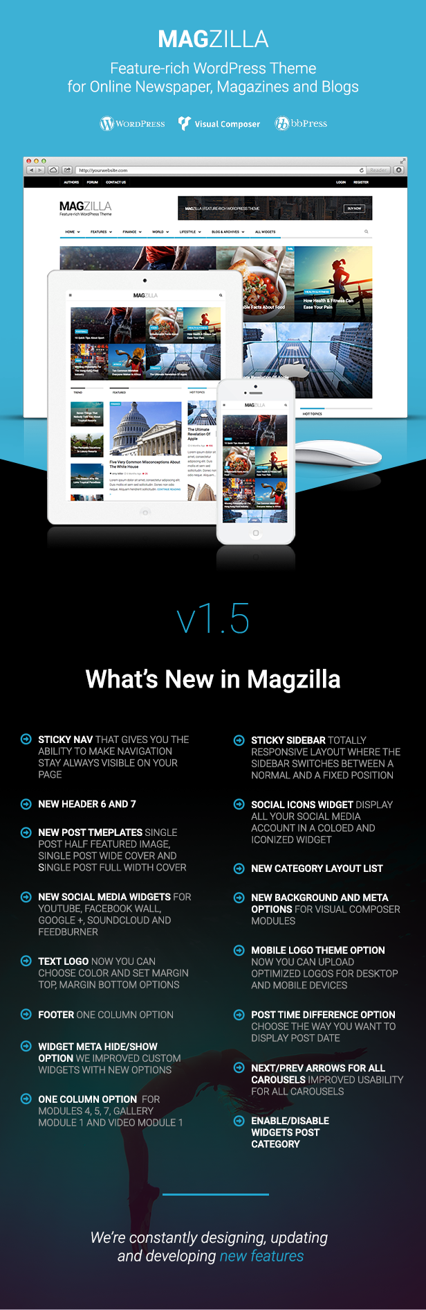 MagZilla - For Newspapers, Magazines and Blogs - 2