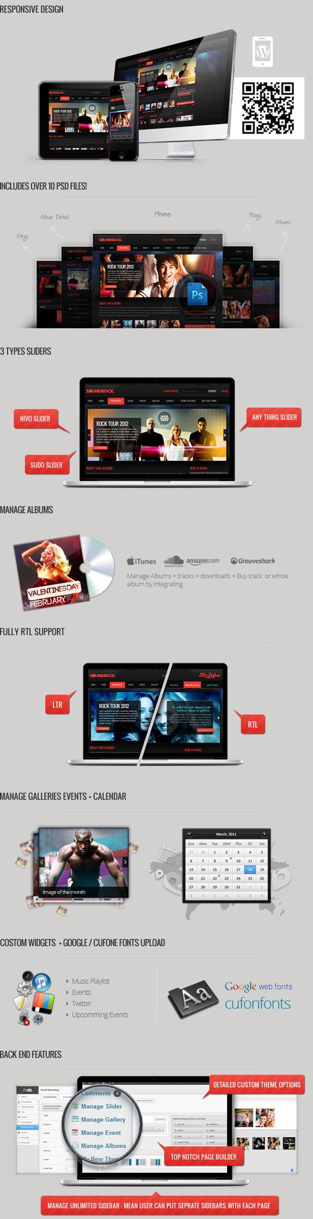 Sound Rock - Music Band Wordpress Theme by Chimpstudio | ThemeForest