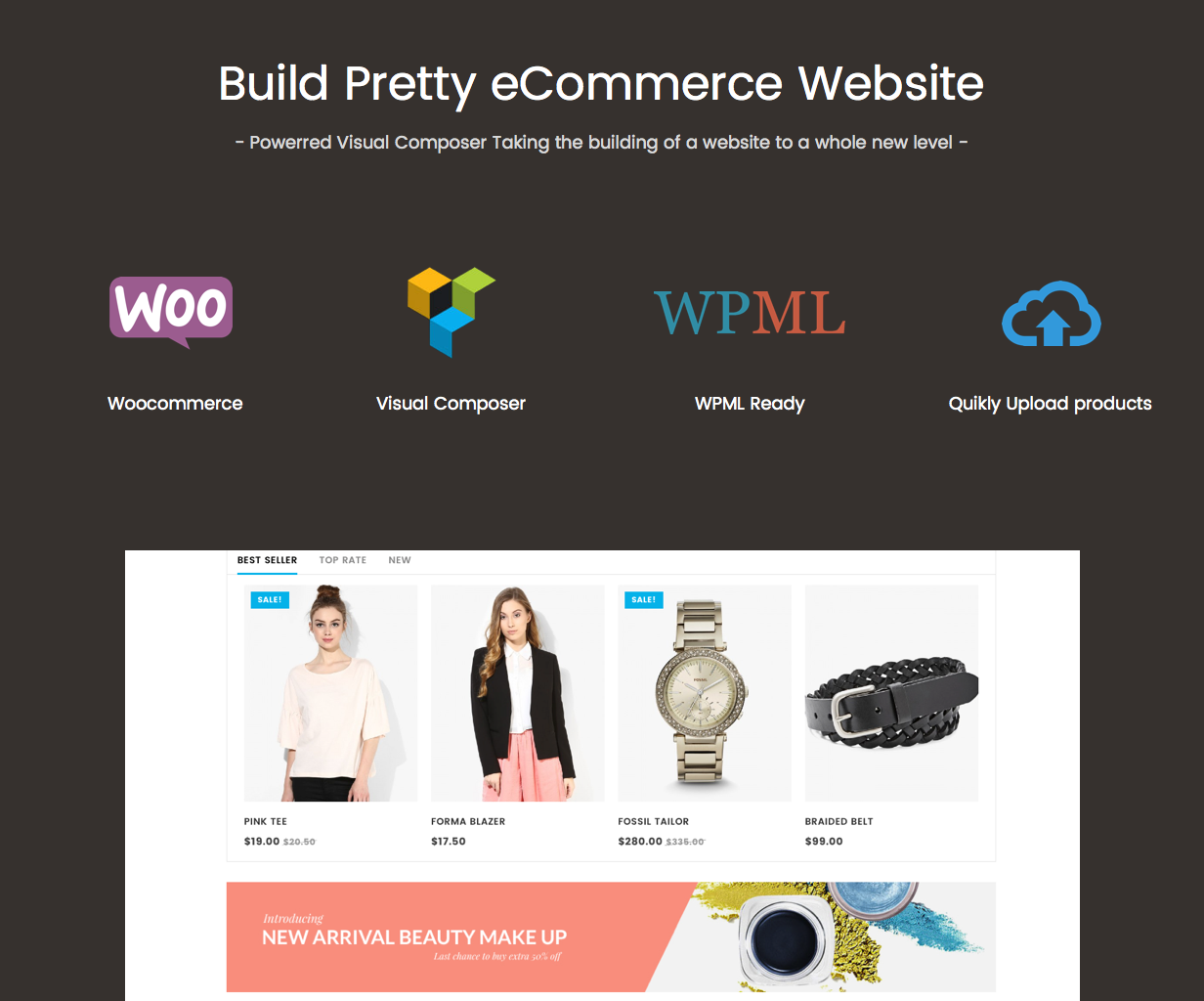 Luxury - Fashion WooCommerce WordPress theme